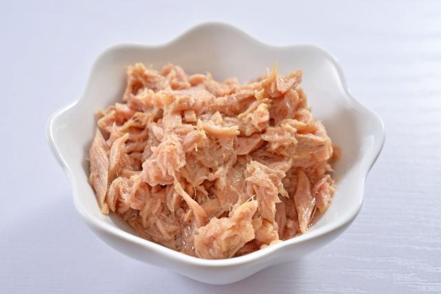 ツナ缶の栄養素と油について